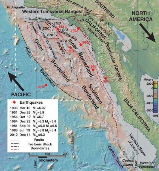 200公里断层合并!俯冲带地质隆起,科学家:可能发生8级地震和海啸