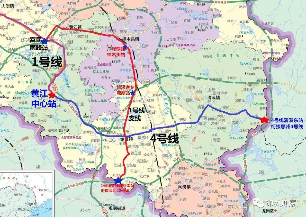 【重磅】南通深圳,东接惠州,地铁塘厦段最新规划曝光!