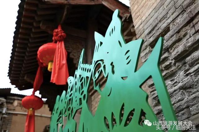 民俗立体剪纸雕塑