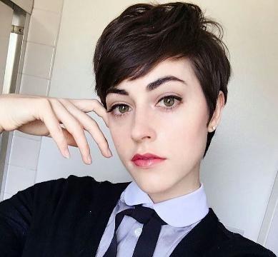 发型改变脸型抖音分享展示