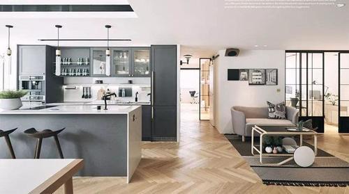 今日案例推荐-时尚现代简约装修风格,满满的家的温暖