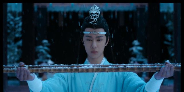 《陈情令》最美画面:不是忘羡初见,不是蓝湛雪中跪,而是这一幕