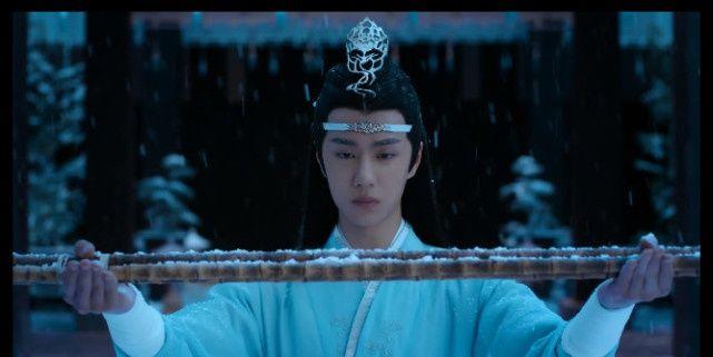 <b>《陈情令》最美画面:不是忘羡初见,不是蓝湛雪中跪,而是这一幕</b>