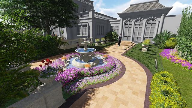 最主要的几种私家庭院景观设计风格总结
