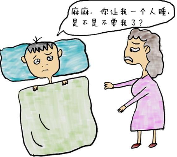 儿子拒绝分房睡,一句话让老爸哭笑不得,你家孩子分房睡了吗?