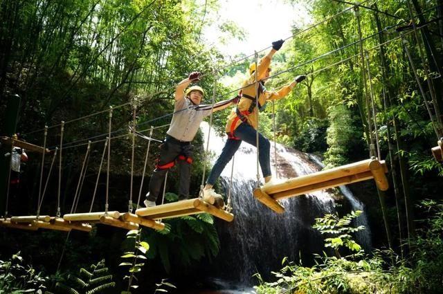 【丛林穿越】玩丛林穿越,夏日纳凉好去处!
