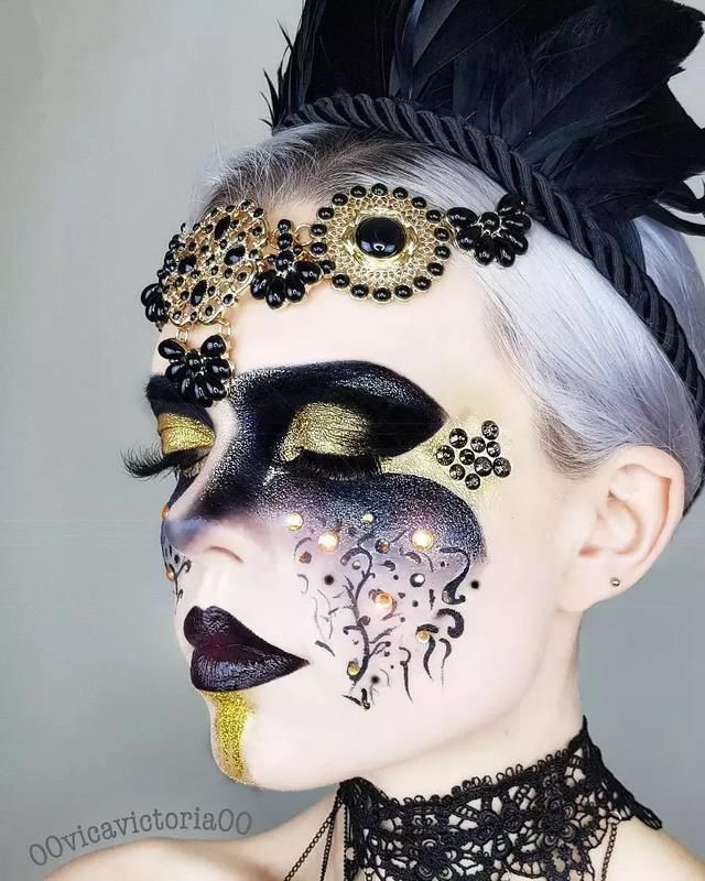分享一组超棒的创意彩妆大片,hin惊艳!