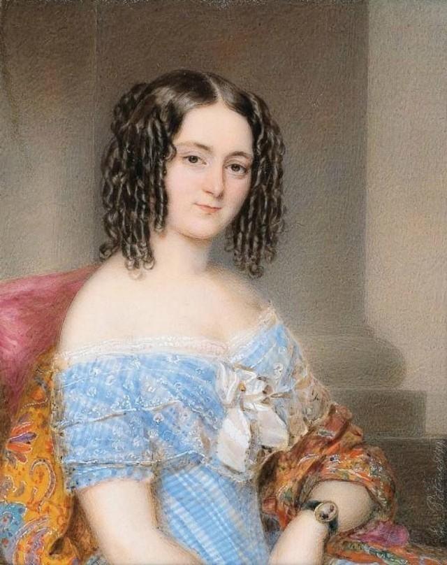 18世纪欧洲宫廷贵妇人物绘画作品欣赏 哈哈哈 第20张