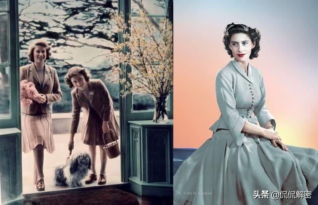 都说英国王室名媛穿套裙很美,现